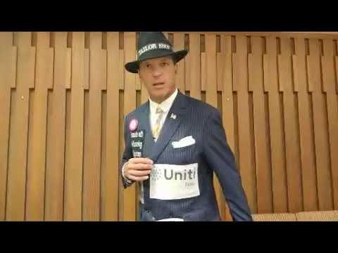 Uniti Fiber and The Running Suit Guy