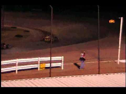 3rd Race Allen Scott # 97 Sportmods Lubbock Speedway 04/12/2013