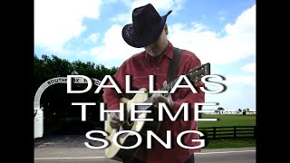 Dallas Theme Song -In Memoriam Of Larry Hagman 1931-2012 -(Fingerstyle guitar cover)