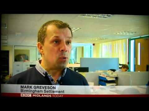 Birmingham Settlement BBC One Midlands Today 29.07.2013
