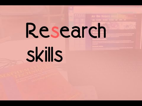 1-2.2 - Research Techniques (for ESL/EFL students)