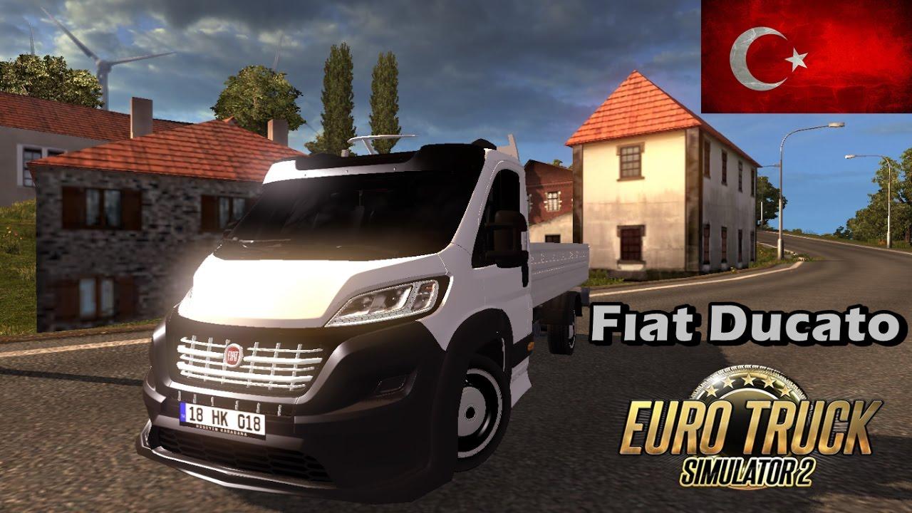 fiat ducato euro truck simulator 2 ets2 youtube. Black Bedroom Furniture Sets. Home Design Ideas