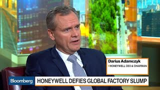 Honeywell CEO Adamczyk on Sales, Growth, M&A