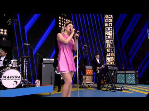 Marina and the Diamonds - Power & Control [ Live T4 on the Beach 2012 ] HD