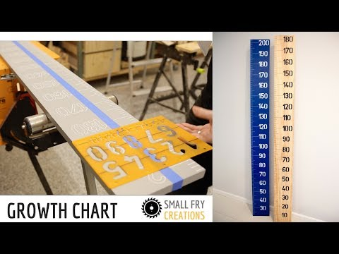 How to make a Growth Chart - NO tools