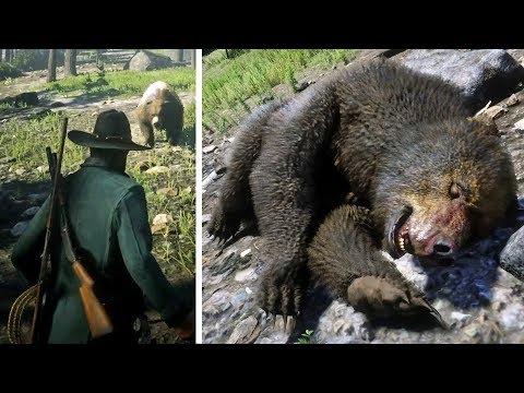 لا تذهب لهذا المكان الدب الأسطوري الخطير في ريد ديد أونلاين | Red Dead Online Legendary Bear