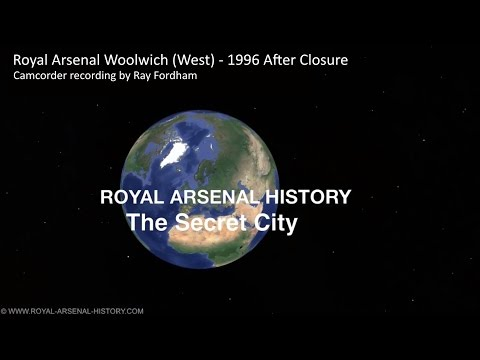 Royal Arsenal Woolwich (West) - 1996 After Closure