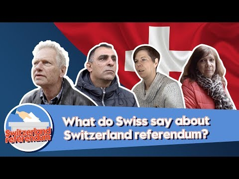 What do the Swiss say about Switzerland referendum? Mp3