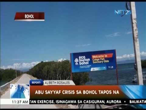 Abu Sayyaf crisis sa Bohol, tapos na
