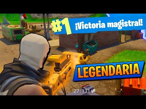 SCAR LEGENDARIA DESTROZA!! Fortnite: Battle Royale (PS4)