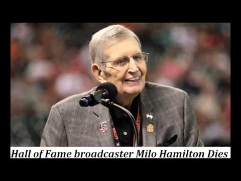 Milo Hamilton, a Hall of Fame broadcaster Dies at 88