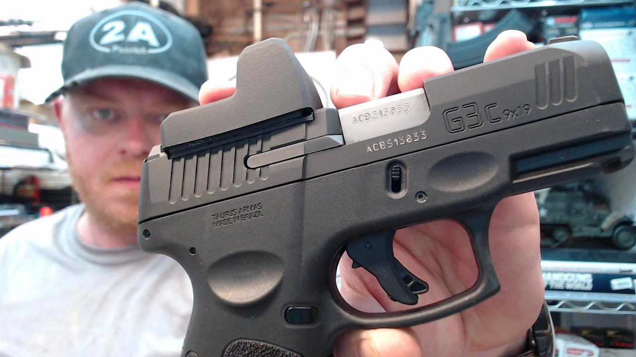 Taurus G3c TORO 9mm With UTG OP3 Micro Green Dot Reflex Sight Unboxing & Initial review