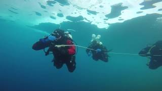 Eistauchen Murner See 2017