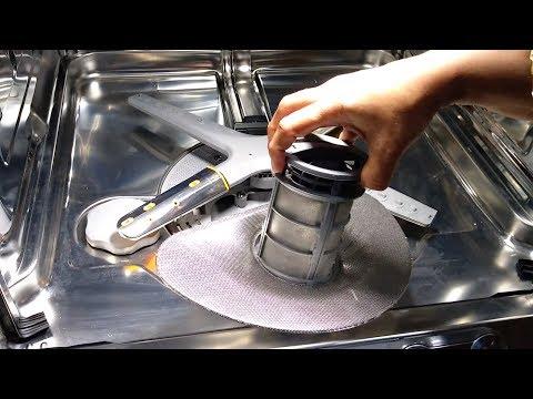 LG Dishwasher DFB424FP | Drain Filter cleaning | Part VI