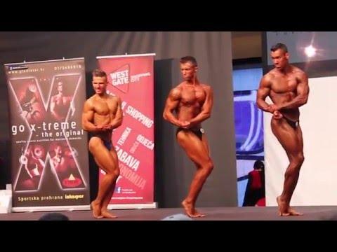Bodybuilding competition 2016 Croatia