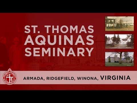 St. Thomas Aquinas Seminary - From Armada to Virginia