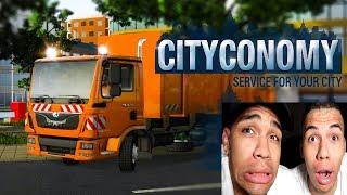 WIR SIND MÜLLMANN ! | CityConomy | PrankBrosGames