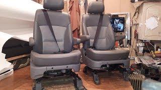 Замовлення. Передні сидіння з поворотом на 180 градусів. Частина 2