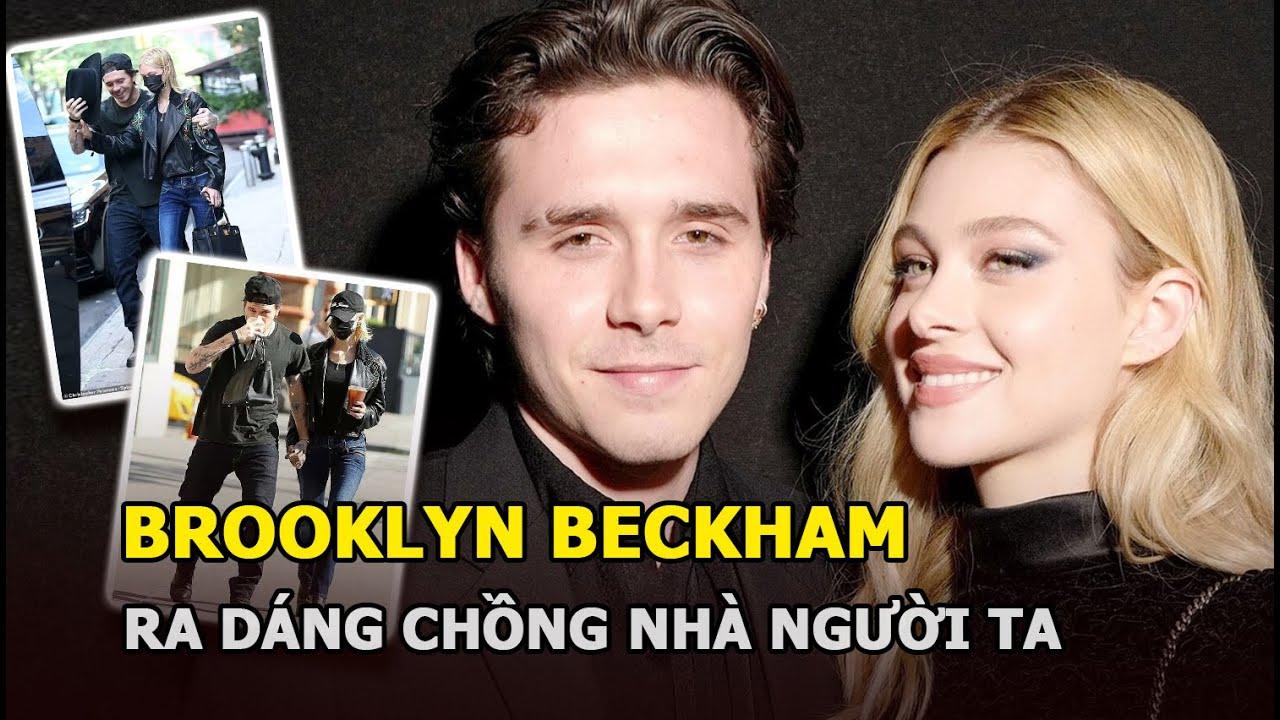 Brooklyn Beckham ra dáng chồng nhà người ta khi dạo phố với Nicola Peltz