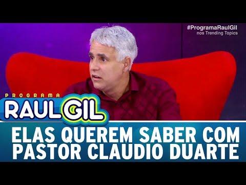 Elas Querem Saber com Pastor Claudio Duarte | Programa Raul Gil (20/05/17)