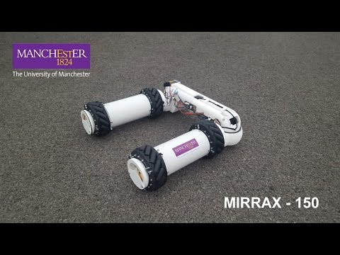 MIRRAX 150 - UoM Robotics - Reconfigurable Omni-direction LIDAR Nuclear Decommissioning Robot