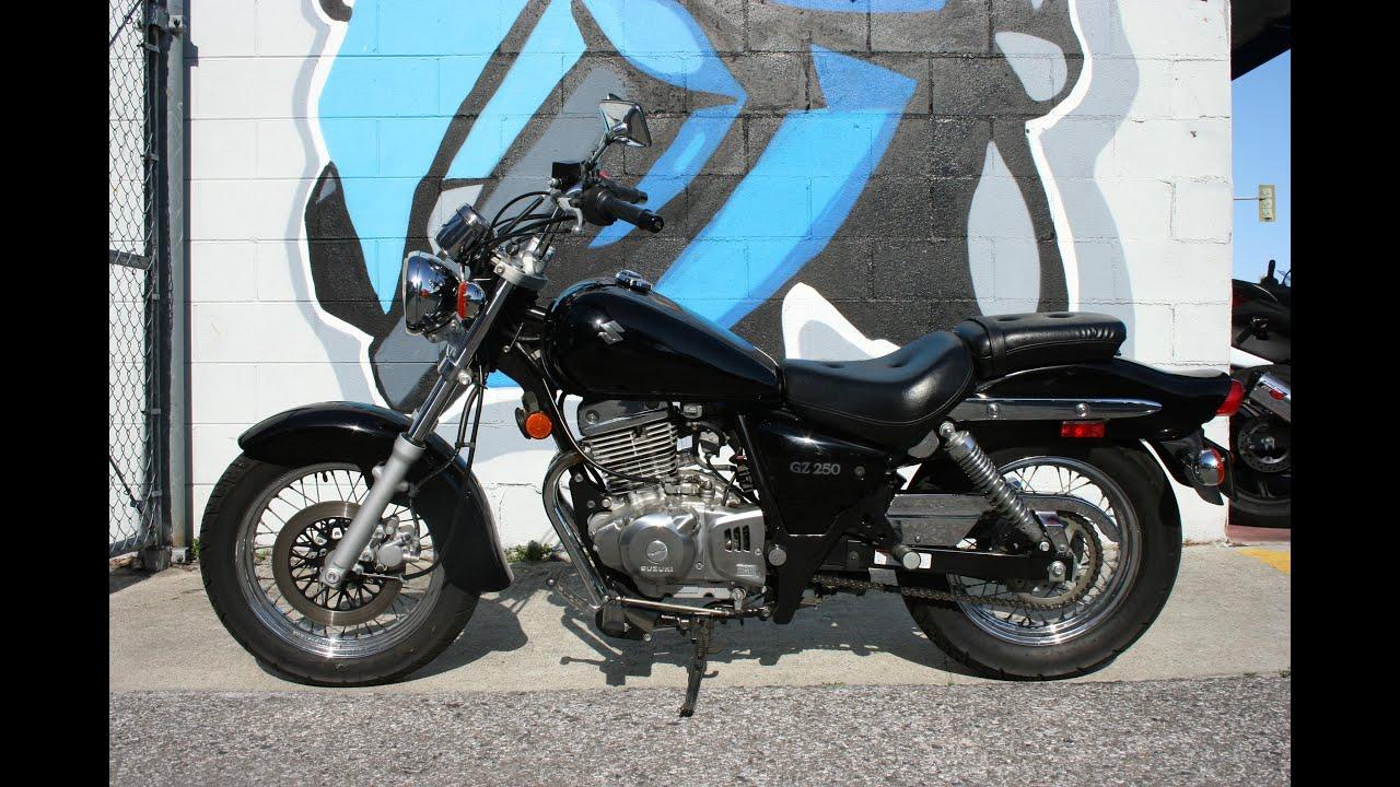 2009 Suzuki GZ250 ... Great Light Weight Cruiser w ONLY 4612 Miles ...