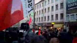 no border no nation auf münchner demo
