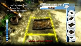 Planet Minigolf 2 PS3 holes in 2 minutes video game trailer