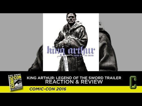 King Arthur: Legend of the Sword Trailer Reaction & Review - San Diego Comic-Con 2016