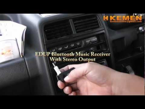 EDUP Wireless Car Bluetooth Stereo Music Receiver