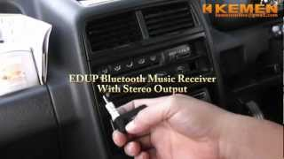 edup wireless car bluetooth stereo music receiver