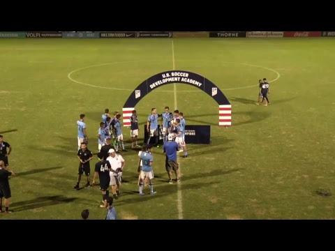 Development Academy U-18/19 Boys Final: New York City FC Vs. LA Galaxy