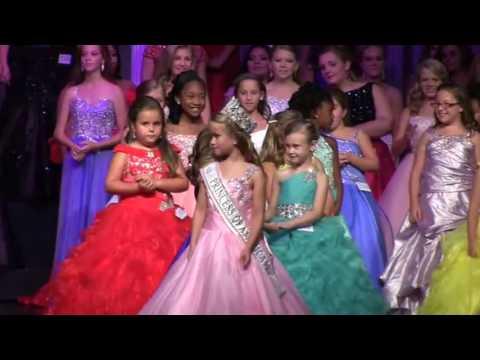 Crowning: Tiny Miss Princess of America 2016-Emery Molander