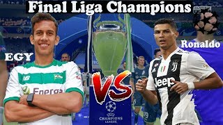 [Main] Fifa 19 PS4 | Aksi Egy Maulana Vikri Ketika Bertanding Dengan Ronaldo Di Final Liga Champions