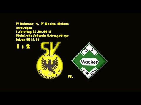 2015-08-23 / 1. Spieltag / Kreisliga A / SV Rabenau-SV Wacker mohorn