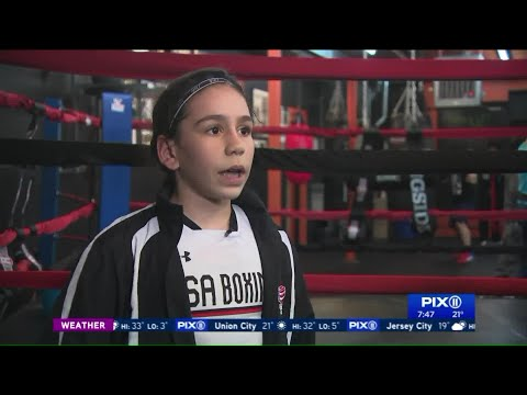 The young champs of the Savage Boxing Gym in New Jersey