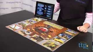 Construction Machines 3D Interactive Puzzle Game from Popar Toys