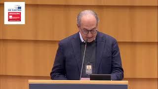 Intervento durante la Plenaria del Parlamento europeo del parlamentare europeo Paolo De Castro sull' Accordo sugli scambi commerciali e la cooperazione tra l'Unione europea e il Regno Unito