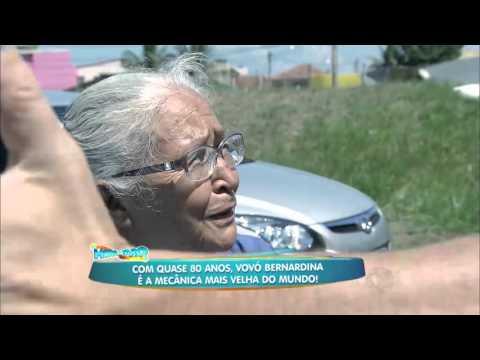 Rodrigo Faro conhece a mecânica mais velha do mundo ARQUIVOMDB