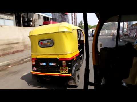 Rajd rykszą po Bangalore