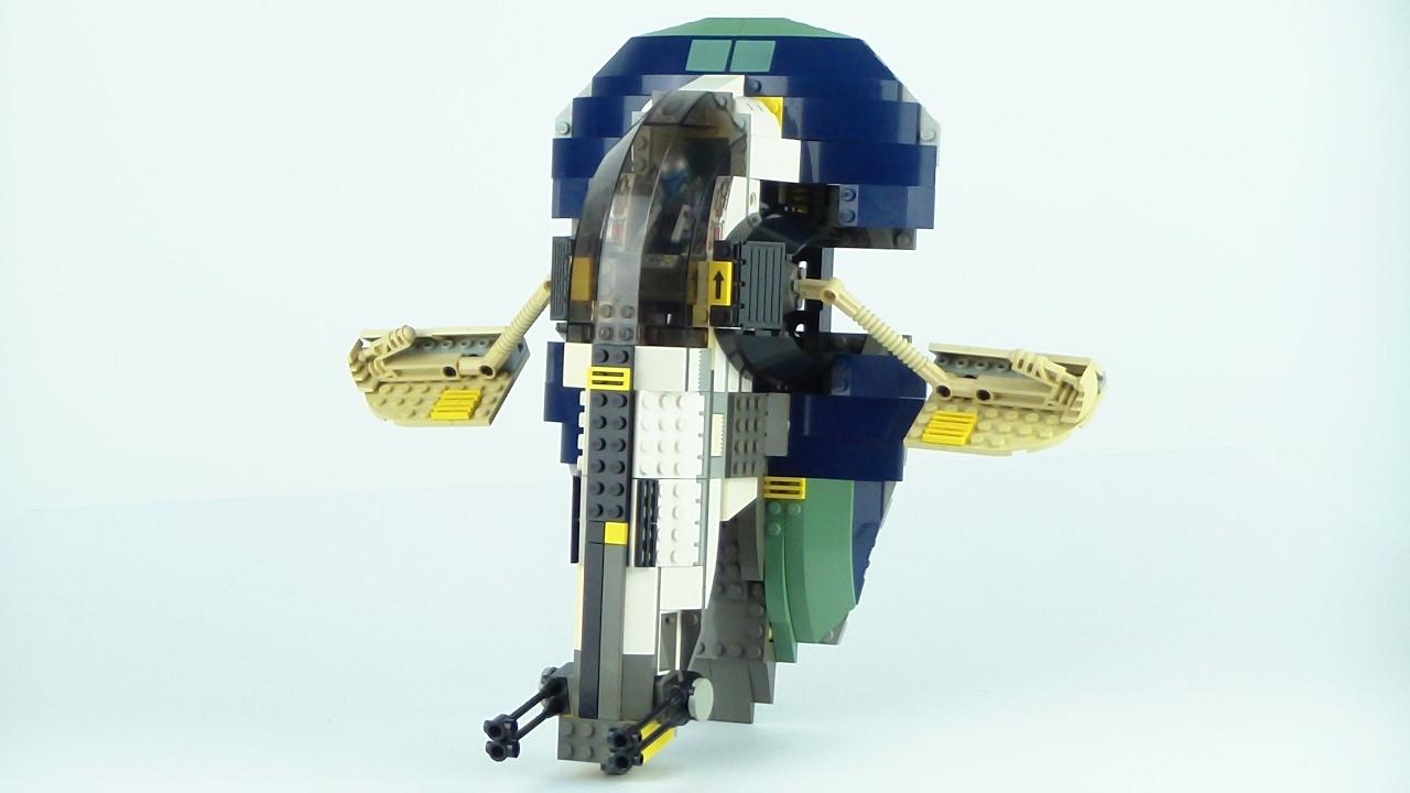 LEGO Star Wars Jango Fett's Slave 1 Review! 7153