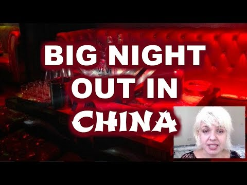 Big Night Out in China, One Woman in China