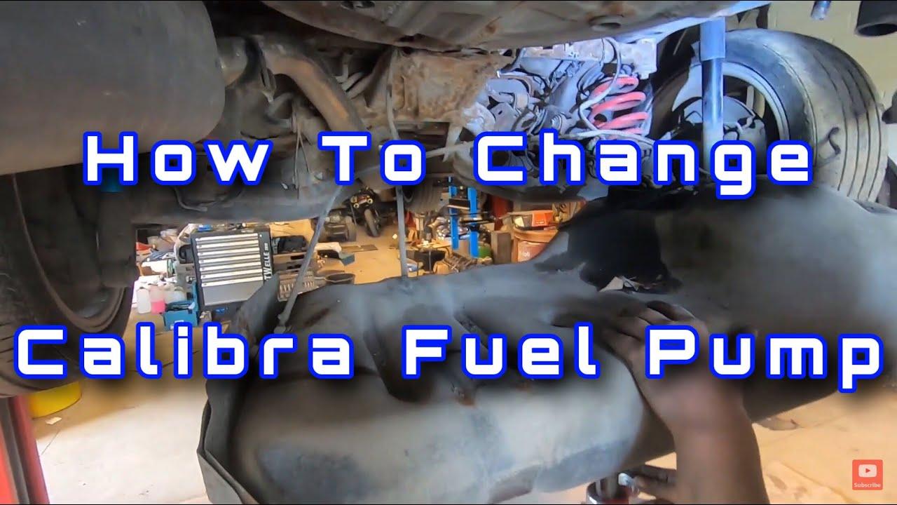 Opel Calibra Restoration part 3(Fuel pump)