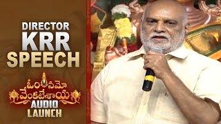 K Raghavendra Rao Superb Speech @ Om Namo Venkatesaya Audio Launch