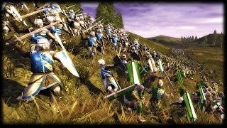 WRECKING BALL CHARGE - Medieval 2 Total War Gameplay 2v2 Battle