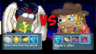LinkTrader VS Aiuto [Show for fun]│Growtopia(그로우토피아)