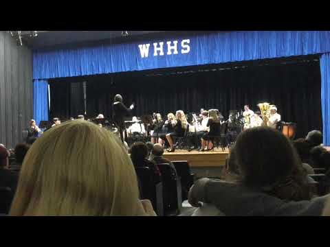 Rugby Middle School 8th Grade Pre-MPA Concert
