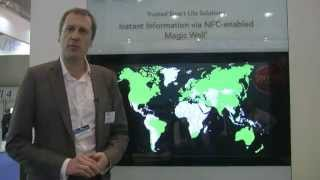 NFC Magic Wall at CARTES 2012