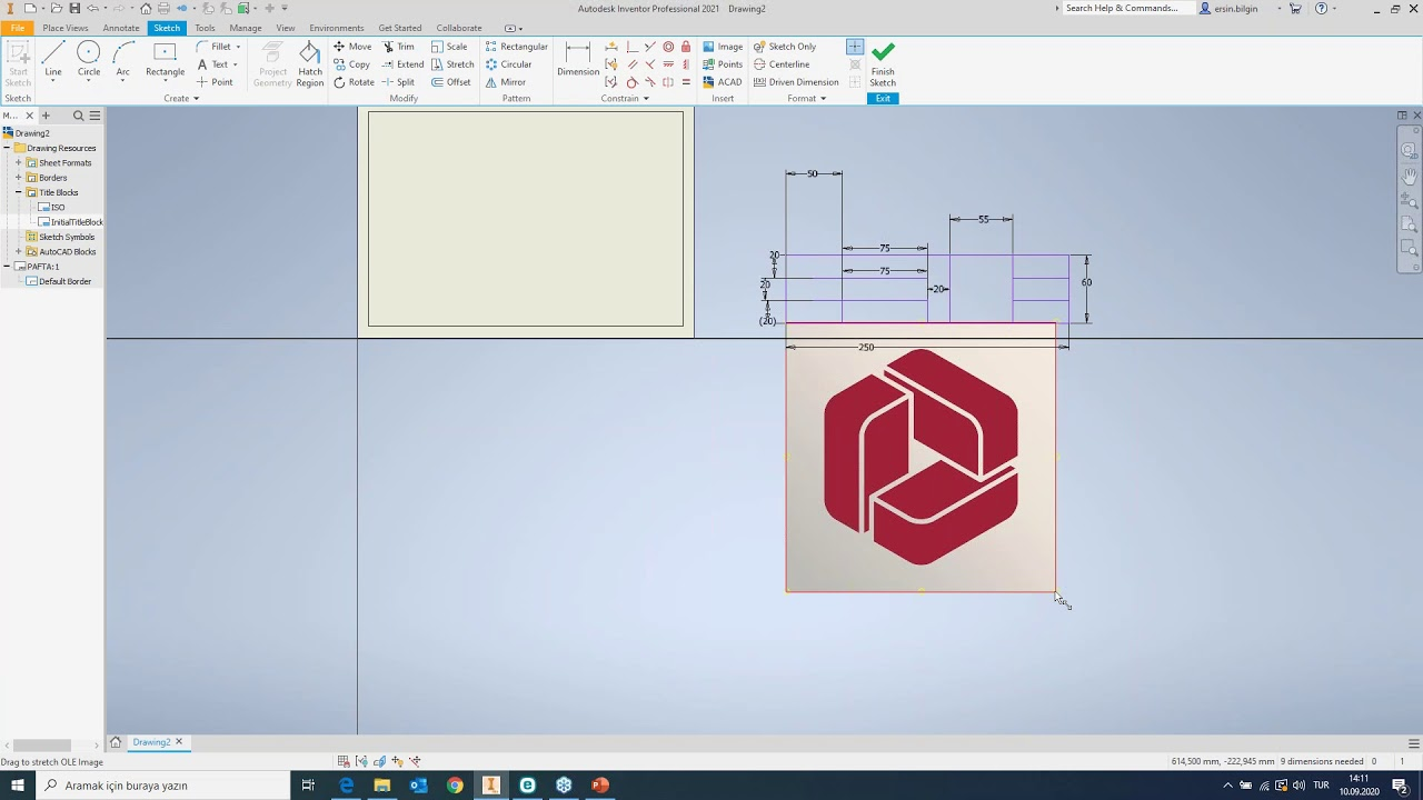 Autodesk Inventor ile Teknik Resim ve Antet Oluşturma Webinarı