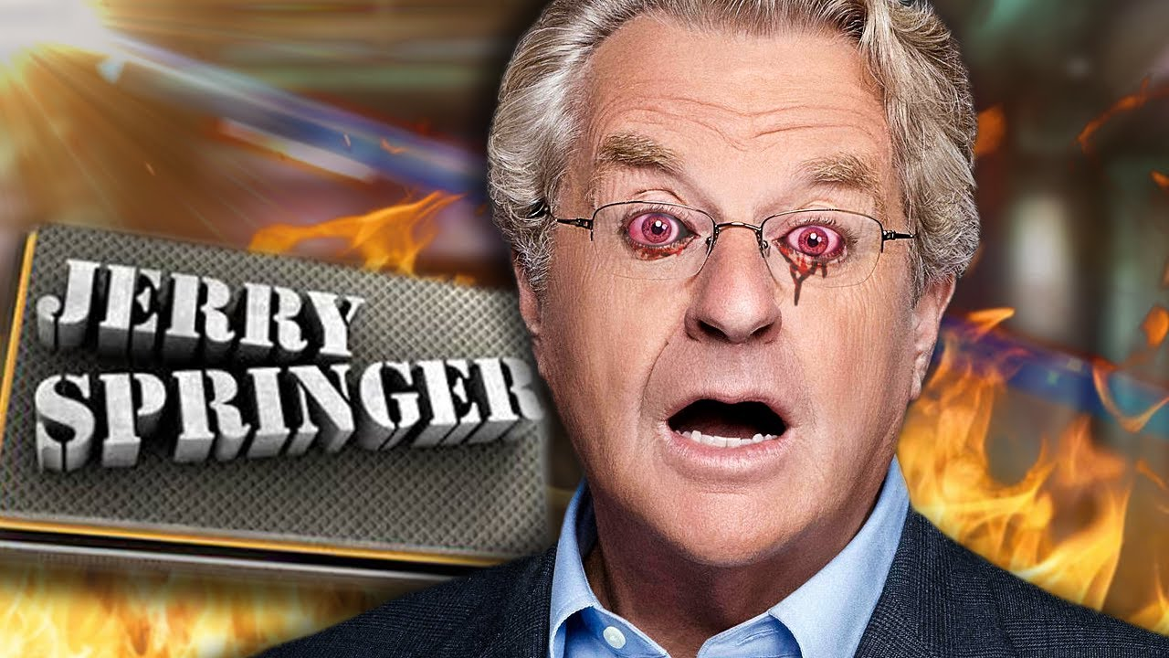 The KING of Trash TV - The Jerry Springer Show